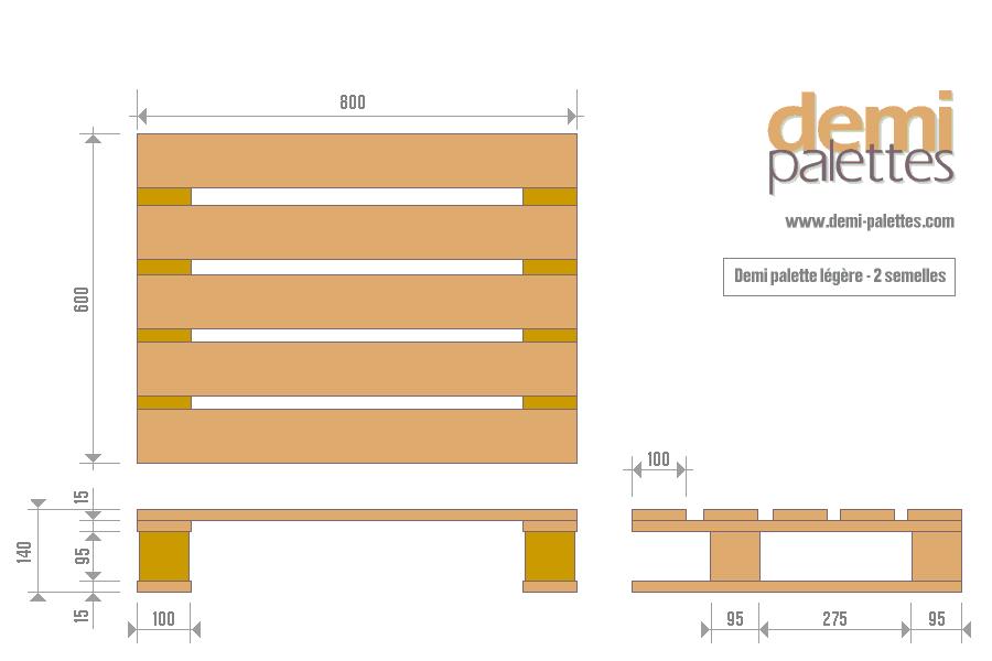 8 best bois palettes dimensions images on pinterest for Plan meuble palette pdf