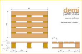 demi les demi palettes lourdes. Black Bedroom Furniture Sets. Home Design Ideas